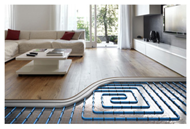 Installation Underfloor Water Heating