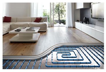 Installation Underfloor Water Heating